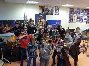 orchestre du collège Georges Gironde